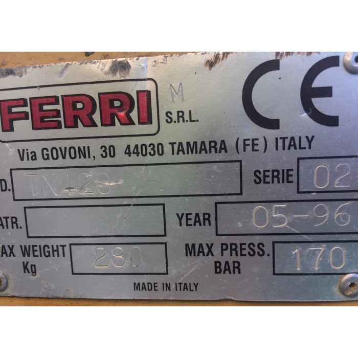 BRACCIO DECESPUGLIATORE FERRI TS 45