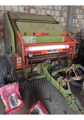 ROTOPRESSA WOLVO COLUMBIA R 12 - 2000 SUPER