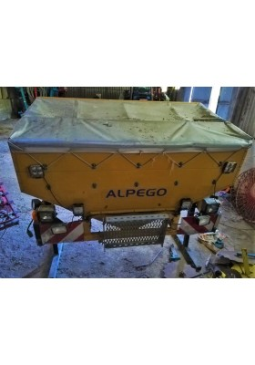 SEMINATRICE COMBINATA ALPEGO AS 3 500 PLUS + ALPEGO DX 500