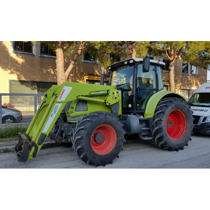 CLAAS ARION 640 CIS + CARICATORE FRONTALE CLAAS  FL150