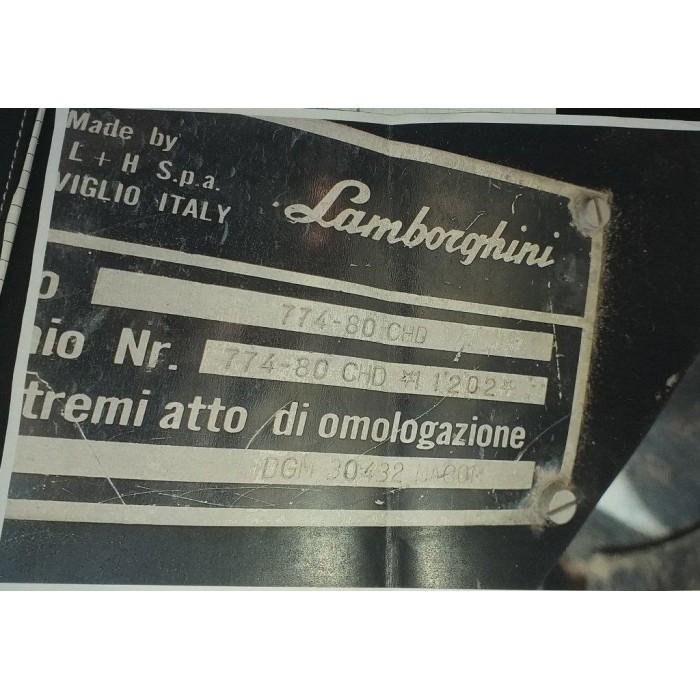 LAMBORGHINI 774 - 80 C + LAMA APRIPISTA