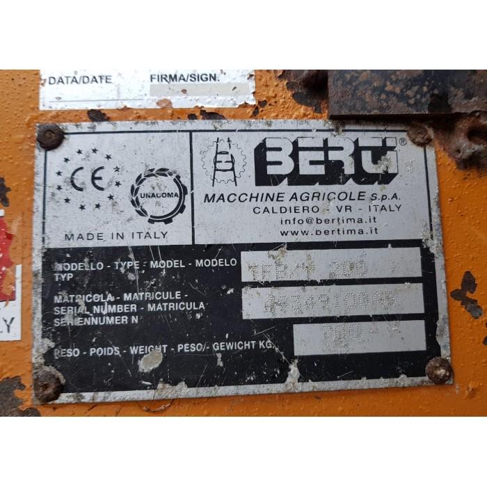 TRINCIATUTTO BERTI TFB-Y 200