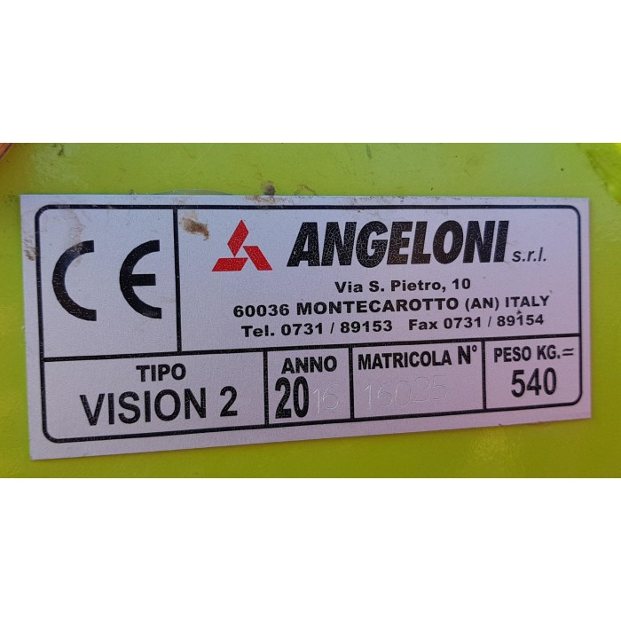 CARICATORE FRONTALE ANGELONI VISON 2