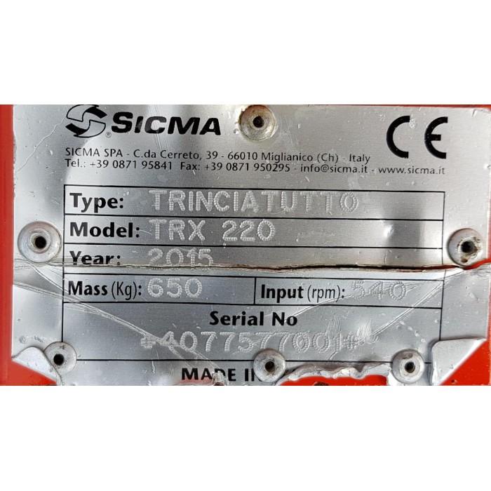 TRINCIATUTTO SICMA TRX 220