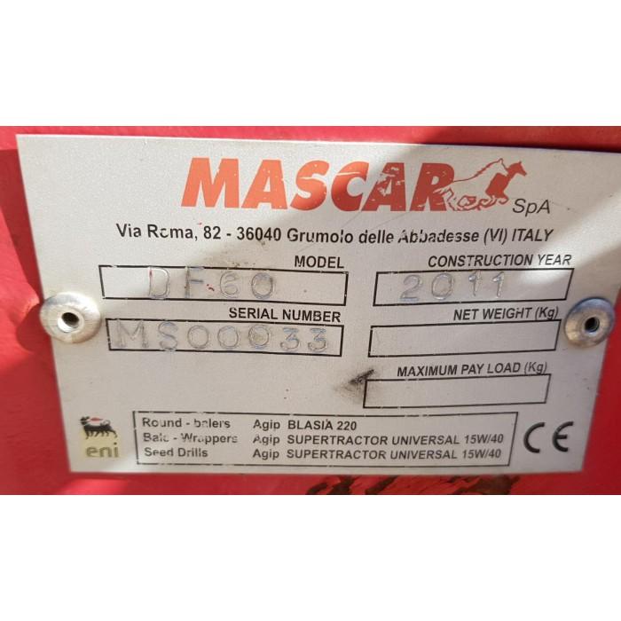 FALCIATRICE MASCAR DF 60 FRONTALE