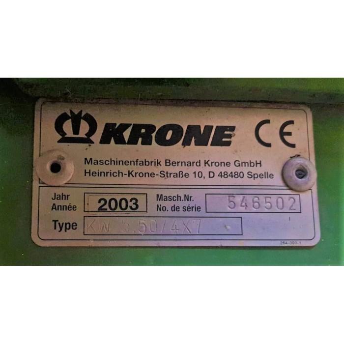 VOLTAFIENO KRONE KW 550 / 4 X 7