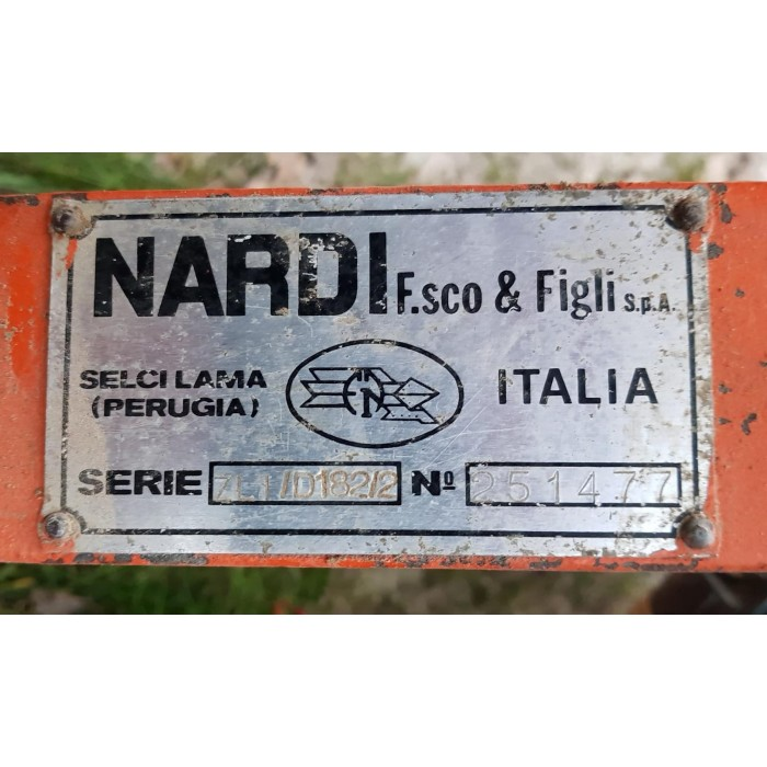 FRESA NARDI 7 LI/D 18212 SCAVALLATRICE - 1,80 mt